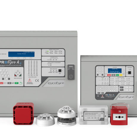 Eurofyre Supply Fire Alarm System for 35M Townhouse