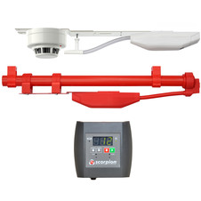 Servicing Fire Detection Systems in Areas of Difficult Access