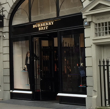 Luxury Clothing Store, Covent Garden, London