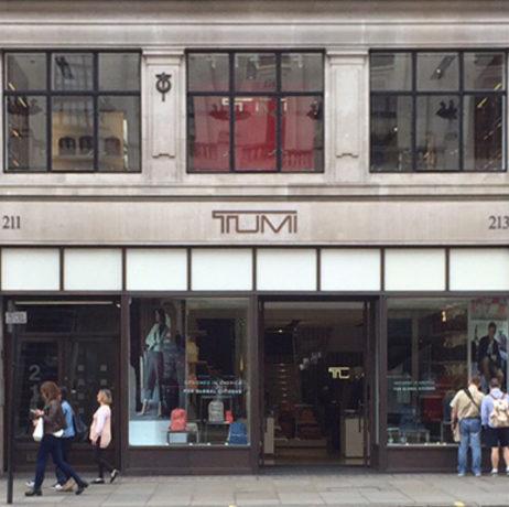 TUMI, Regent Street, London
