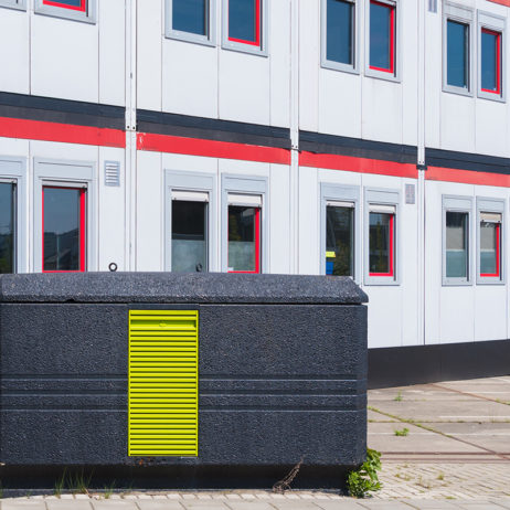 Hybrid Fire Detection for Modular Buildings