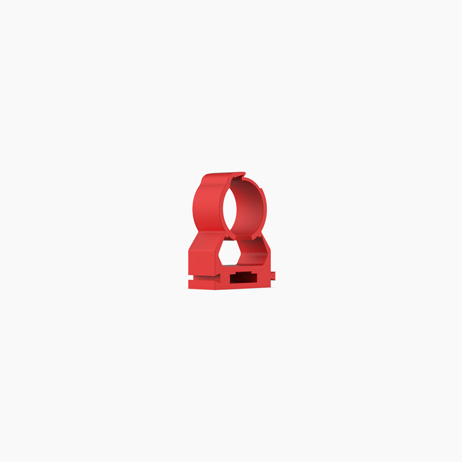 VESDA Red ABS 25mm x 3/4″ Pipe Clip