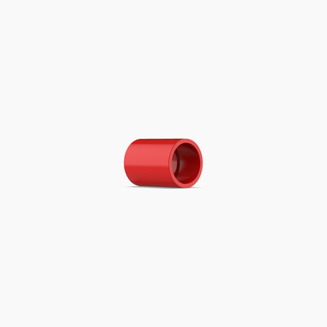VESDA Red ABS 25mm Socket