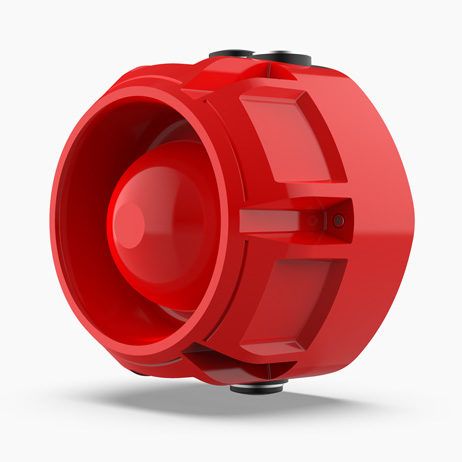 Raptor Addressable Sounder - Red