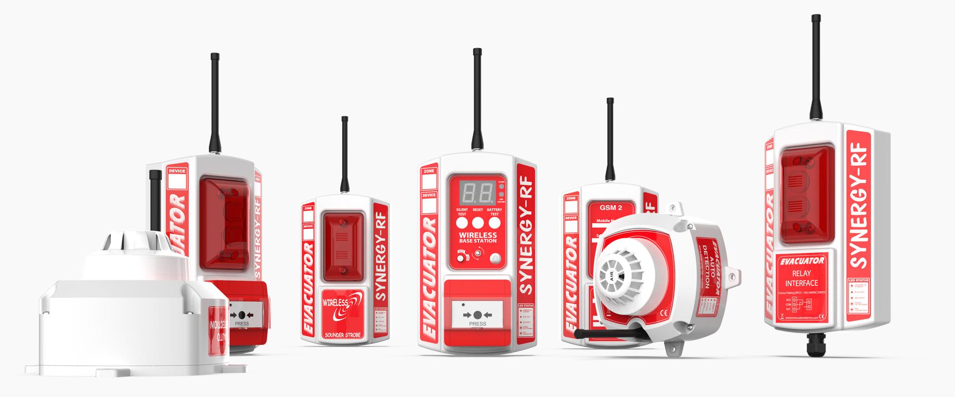 Evcuator Synergy Temporary Wireless Fire Detection