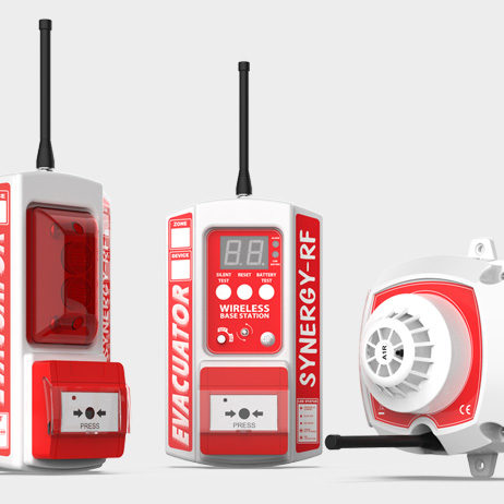 Temporary Wireless Fire Detection